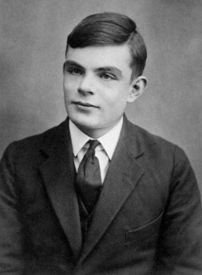 Photo of Alan Turing at age 16