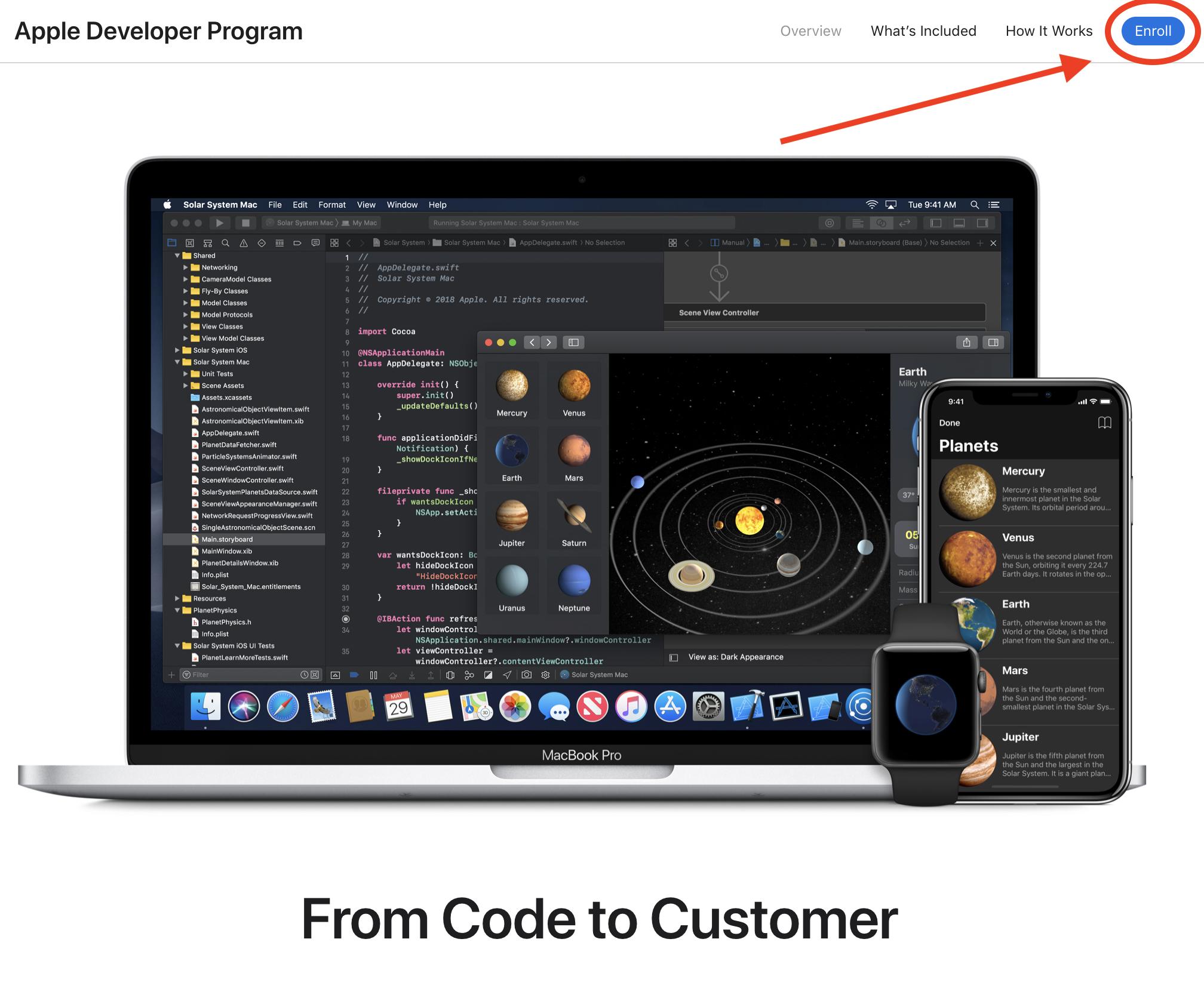 Apple Developer Enrollment